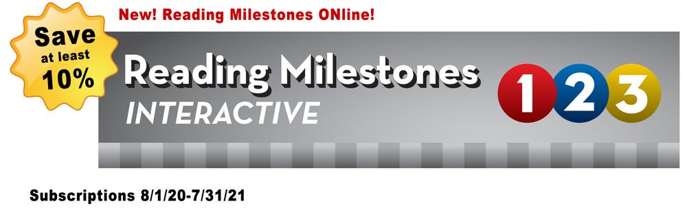 Reading Milestones ONline