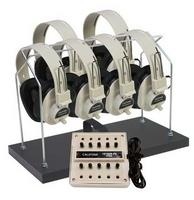 Image 6 Position Non-Powered Stereo Listening Center 1216AVPS-03