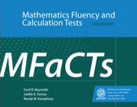 Image Mathematics Fluency Calculation Tests Secondary (MFaCTs)