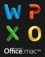 Image Microsoft mac:Office 2011