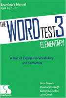 Image The WORD Test 3 Elementary