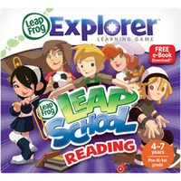 Image LeapFrog LeapPad Learning Game: LeapSchool Reading
