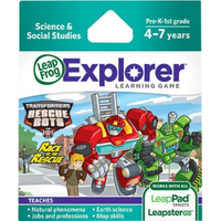 Image LeapFrog LeapPad Leapster Game: Transformers Rescue Bots