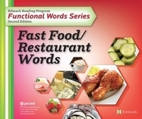 Image Edmark Funcational Words 2nd Ed - Fast Food / Restaurant Words