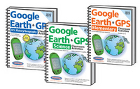 Image Google Earth and GPS Classroom Activities Bundle 3
