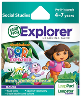 Image LeapFrog LeapPad Game: Dora the Explorer Worldwide Rescue