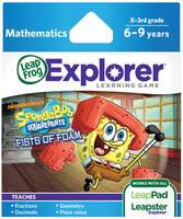 Image LeapFrog LeapPad/Leapster Game: SpongeBob SquarePants Fists of Foam