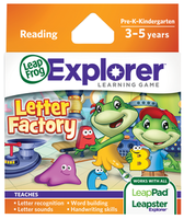 Image LeapFrog LeapPad Learning Game: Letter Factory