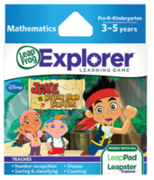 Image LeapFrog LeapPad/Leapster Game: Disney Jake & the Never Land Pirates