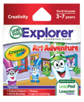 Image LeapFrog LeapPad Game: Crayola Art Adventure