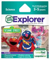 Image LeapFrog LeapPad/Leapster Game: Sesame Street Solve It