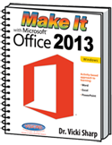Image Make it with Microsoft Office 2013