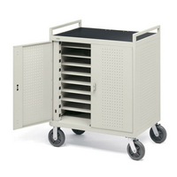 Image Core 18XL 18-Unit Device Cart w/Front Electrical on 8