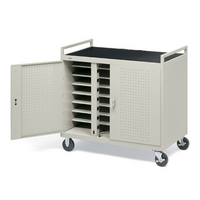 Image Core 24XL 24-Unit Device Cart w/Front Electrical on 8