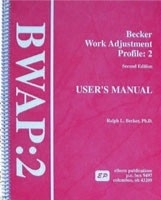 Image Becker Work Adjustment Profile–Second Edition (BWAP:2)