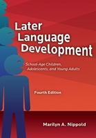 Image Later Language Development: School-Age Children, Adolescents, and Young Adults–F