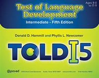 Image TOLD-I 5 Test of Language Development Intermediate Fourth Edition