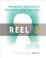 Image Receptive-Expressive Emergent Language Test 3rd Ed REEL-3