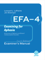 Image EFA-4 Exmaning for Alphasia Fourth Editiona EFA Additional Forms