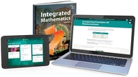 Image HMH Integrated Mathematics 1 Hybrid Classroom Package 1-year 75 Students