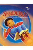 Image Senderos Estandares Comunes Common Core Student Edition Set of 25 Grade 2