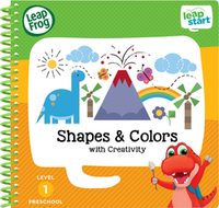 Image LeapFrog LeapStart Preschool Shapes & Colors Activity Book