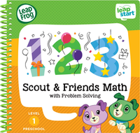 Image LeapFrog LeapStart Preschool Math Activity Book
