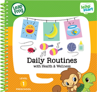 Image LeapFrog LeapStart Preschool Dailty Routines Activity Book