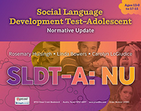 Image social language development test adolescent nu kit