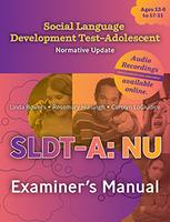 Image social language development test adolescent nu