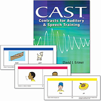 Image Contrasts for Auditory and Speech Training (CAST)