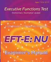 Image Executive Functions Test - Elementary NU Examiners Manual