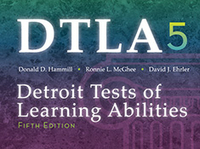 Image DTLA-5 Detroit Tests of Learning Abiltities Fifth Edition