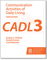 Image CADL-3 Communication Activities of Daily Living Thrid Edition