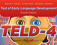 Image TELD-4 Test of Early Language Development Fourth Edition