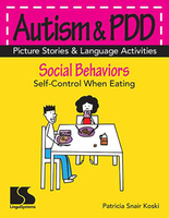 Image Autism & PDD Picture Stories & Language Activities Social Behaviors: Eating