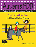 Image Autism & PDD Picture Stories & Language Activities Social Behaviors: Anxious