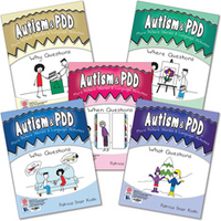 Image Autism & PDD More Picture Stories & Language Activities: 5-Program Set