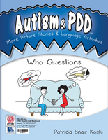 Image Autism & PDD More Picture Stories & Language Activities: Who Questions