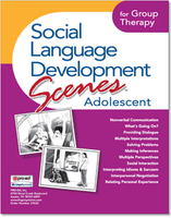 Image Social Language Development Scenes Adolescent for Group Therapy