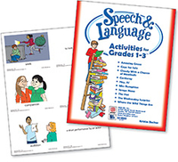 Image Speech & Language Activities for Grades 1-3