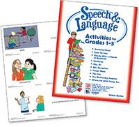 Image Speech & Language Activities for Grades 1-3
