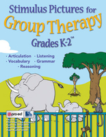 Image Stimulus Pictures for Group Therapy Grades K-2