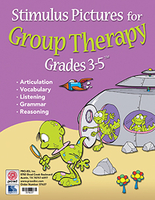 Image Stimulus Pictures for Group Therapy Grades 3-5