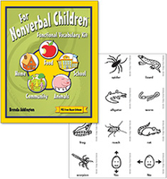 Image For Nonverbal Children: Functional Vocabulary Kit