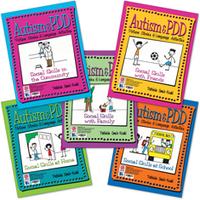 Image Autism & PDD Picture Stories & Language Activities Social Skills 5-Program Set