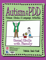 Image Autism & PDD Picture Stories & Language Activities Social Skills with Family