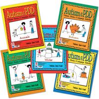 Image Autism & PDD Picture Stories & Language Activities: 5-Program Set