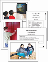 Image Autism & PDD Photo Cards: Verb Tense Questions