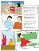 Image No-Glamour Social Language Behavior Cards